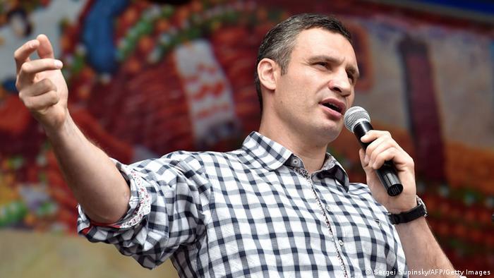 Виталий Кличко выступает на Майдане (фото из архива)
