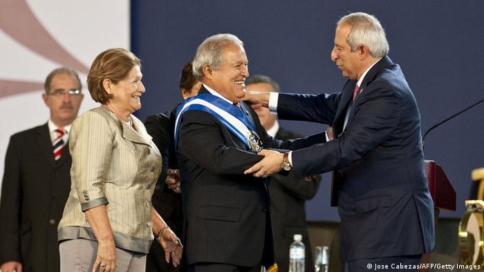 Vereidigung des neuen Präsidenten von El Salvador Sanchez Ceren