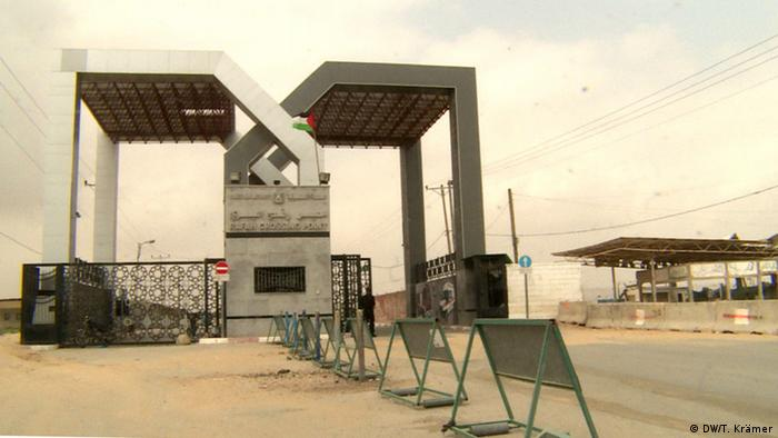 The borders crossing at Rafah to Egypt