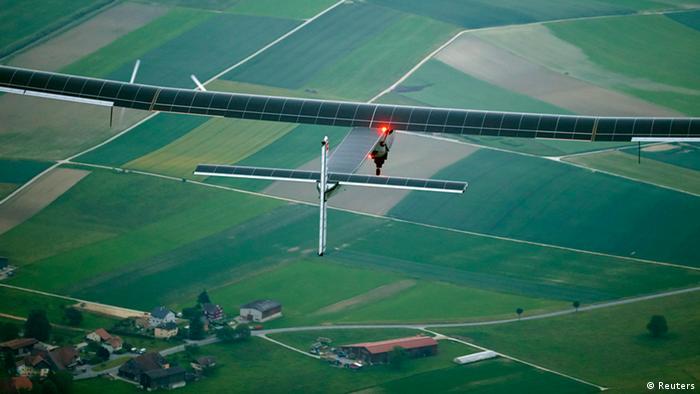 Solar Impulse 2 Jungfernflug 02.06.2014