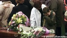Madrid Anschläge Beerdigung 13.03.2004
