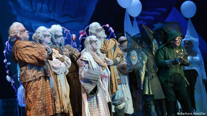 Сон - это жизнь на сцене Боннской оперы