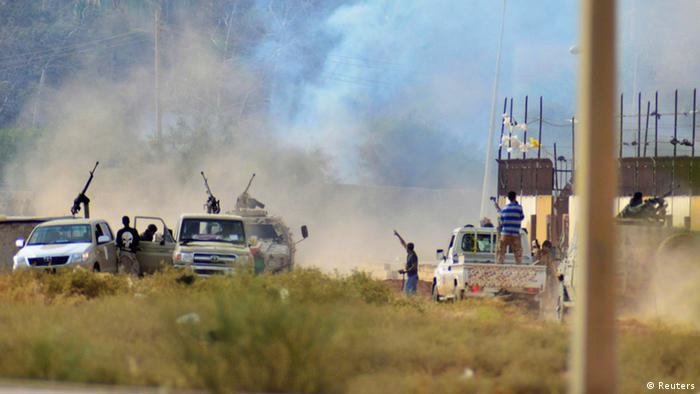 Kämpfe in Benghazi 02.06.2014