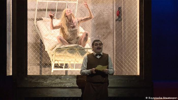 Сцена из оперы Арабелла