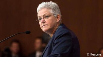 Gina McCarthy Pressekonferenz in Washington 02.06.2014