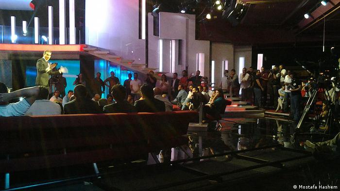 Ägypten Fernsehen Bassem Youssef stellt die Sendung Albernameg ein