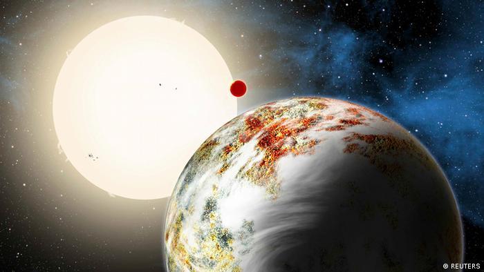 Animation Kepler-10c Mega-Erde