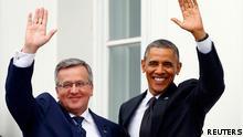 Obama Besuch in Warschau 03.06.2014