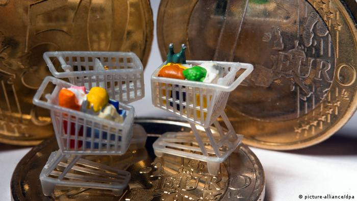 Symbolbild Europa Deutschland Inflation (picture-alliance/dpa)