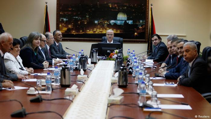 Palästinenser Regierung erste Kabinettssitzung 03.06.2014