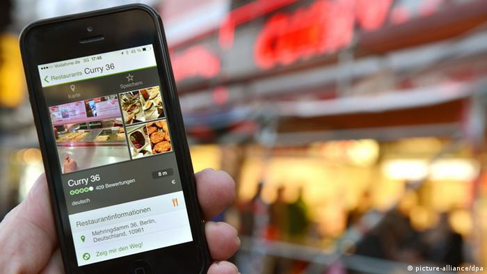 Smartphone Tourismus Bewertung Apps