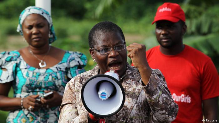 Obiageli Ezekwesili, co-founder of the Bring Back Our Girls movement.