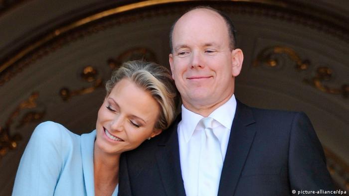 Albert II. und Charlène von Monaco (Foto: dpa)