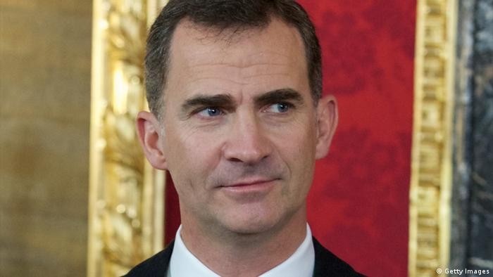 Spanish crown prince Felipe