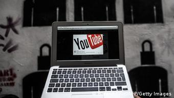 Laptop with YouTube screen (photo: BULENT KILIC/AFP/Getty Images)