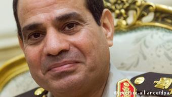 Ägyptens Präsident Abdel Fatah al-Sisi, 3.6.2014 (Foto: dpa)