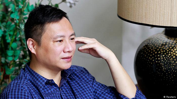 China Dissident Wang Dan Studentenbewegung Archiv 21.05.2014 Taiwan (Reuters)