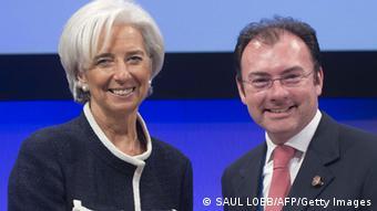Christine Lagarde und Luis Videgaray Caso (Foto: AFP)