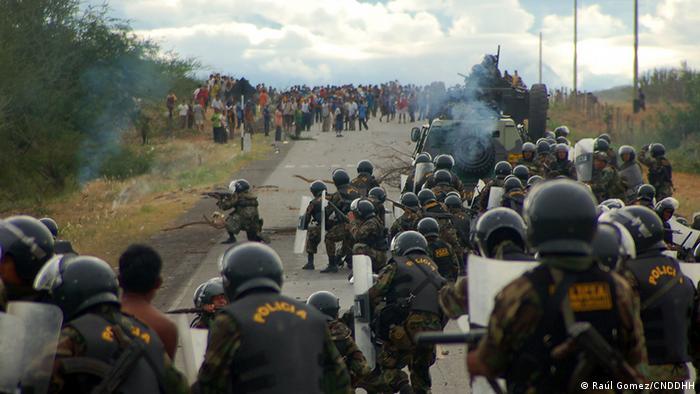 Peru Polizeiaktion in Bagua