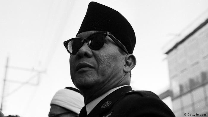 Indonesien Präsident Sukarno