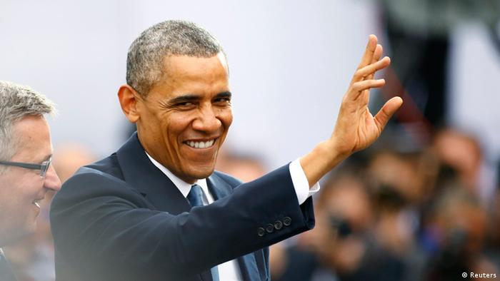Obama Rede in Warschau 04.06.2014