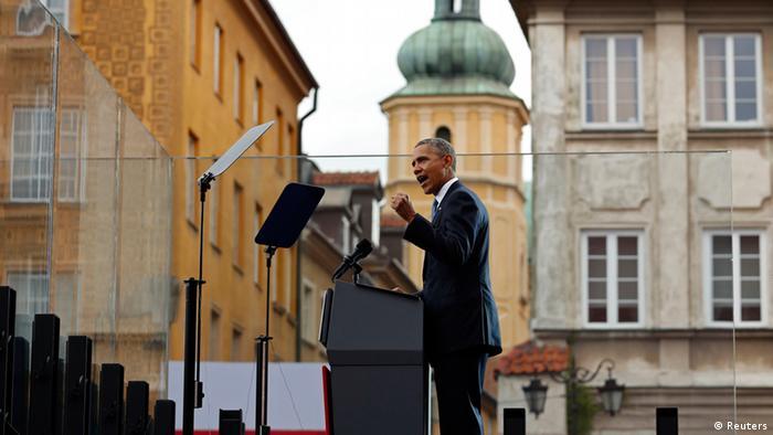 """Obama ataca a Rússia e afirma que """"os dias dos impérios se foram"""""""