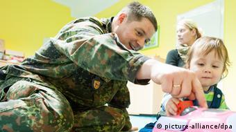 Bundeswehr-Kita in Lüneburg (Foto: dpa)
