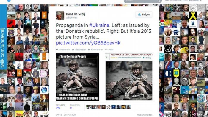 У висвітленні подій, які відбуваються в Україні, часто фігурують фейкові новини або фотографії