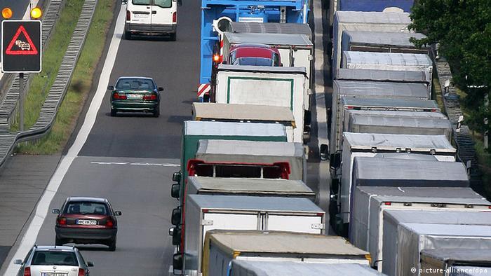 Kamion u Njemačkoj