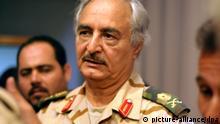 Libyen Umsturz-General Chalifa Haftar