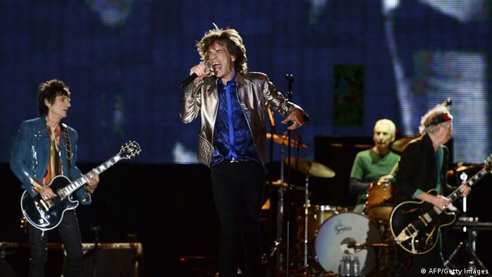 The Rolling Stones performance in Lisbon in 2014 (AFP/Getty Images)
