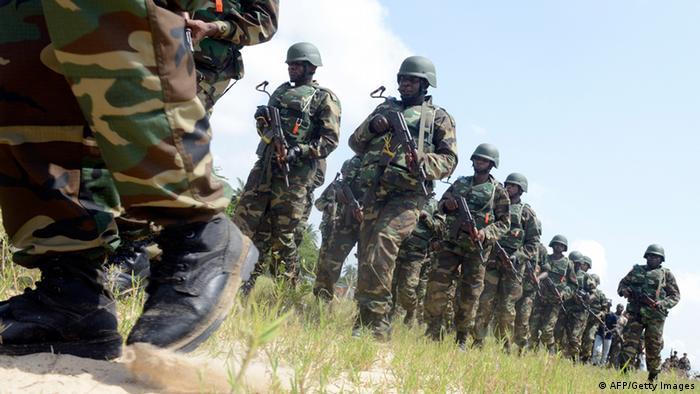 Nigeria Soldaten