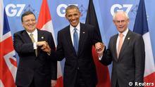 Belgien Jose Manuel Barroso Barack Obama Herman Van Rompuy G7 Gipfel in Brüssel 04.06.2014
