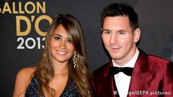 Bildergalerie Fußball WM 2014 Spielerfrauen Antonella Roccuzzo