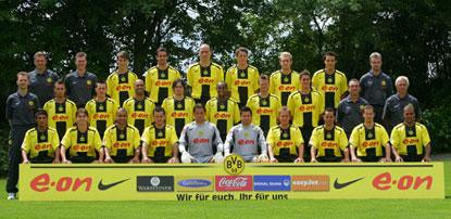 Gruppenfoto Borussia Dortmund