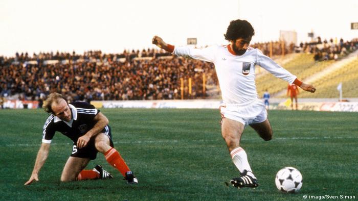 Fußballspiel Schottland Iran 1978 (imago/Sven Simon)