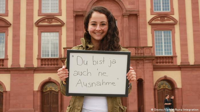 Fotoaktion Auch ich bin Deutschland Farah A. aus Mannheim - Copyright: Deutschlandstiftung Integration