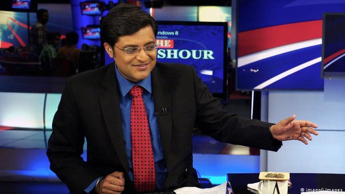 Indischer Journalist Arnab Goswami