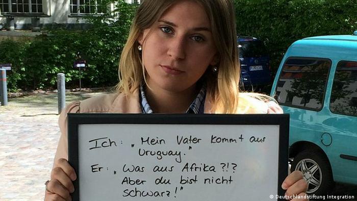 Fotoaktion Auch ich bin Deutschland Victoria C. aus Berlin - Copyright: Deutschlandstiftung Integration