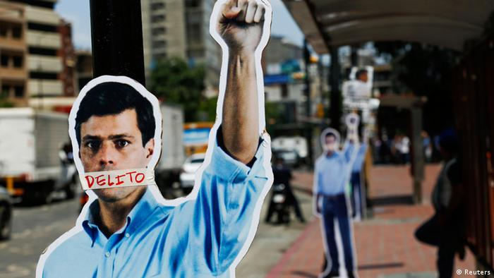 Venezuela rechaza petici�n de la ONU de liberar a Leopoldo L�pez