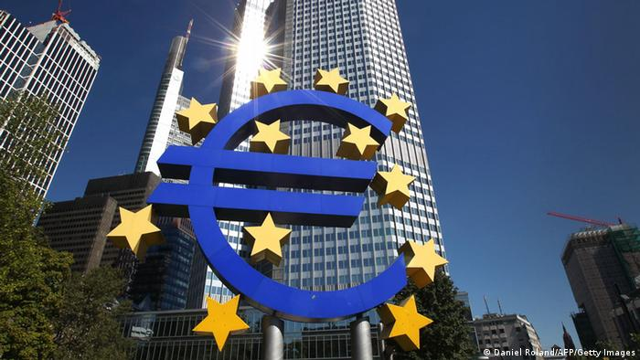 The European Central Bank in Frankfurt, Germany