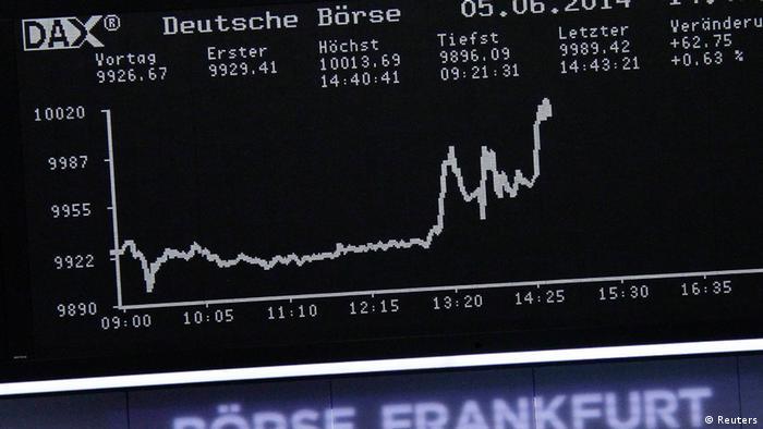 Frankfurt - DAX over 10,000