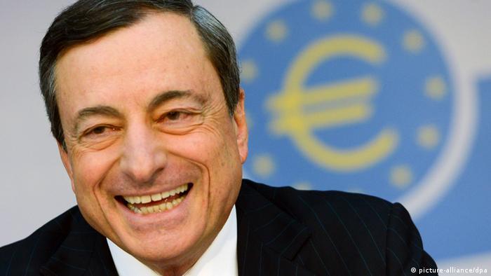 EZB - Il presidente Mario Draghi