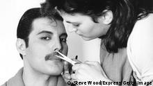 Queen-Sänger Freddie Mercury 1982
