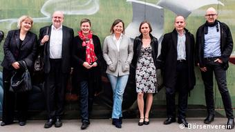 The members of the 2014 German Book Prize jury, Copyright: Claus Setzer