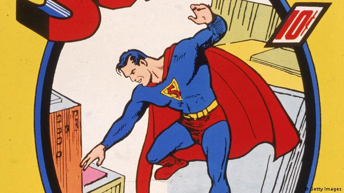 Comic - Superman (Getty Images)
