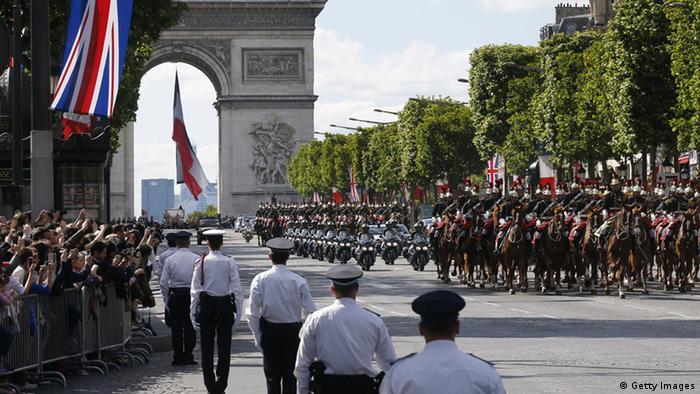 Урочистості у Парижі