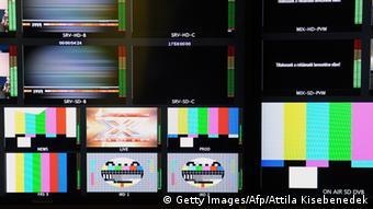 Ungarns Medien stellen Betrieb ein
