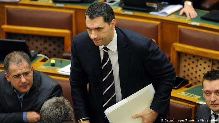 Janos Lazar, der Büroleiter des ungarischen Ministerpräsidenten Viktor Orban (Foto: Getty Images/Afp/Attila Kisbenedek)