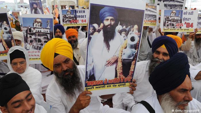 Jarnail Singh Bhindranwale Anführer Sikh Separatisten